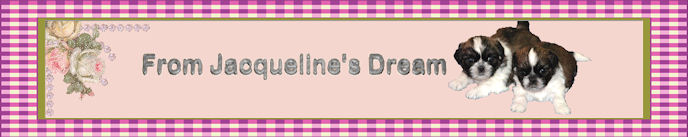 From Jacqueline's Dream